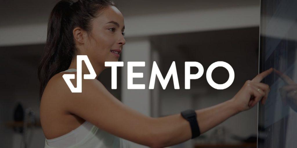 using the Tempo studio HD touchscreen