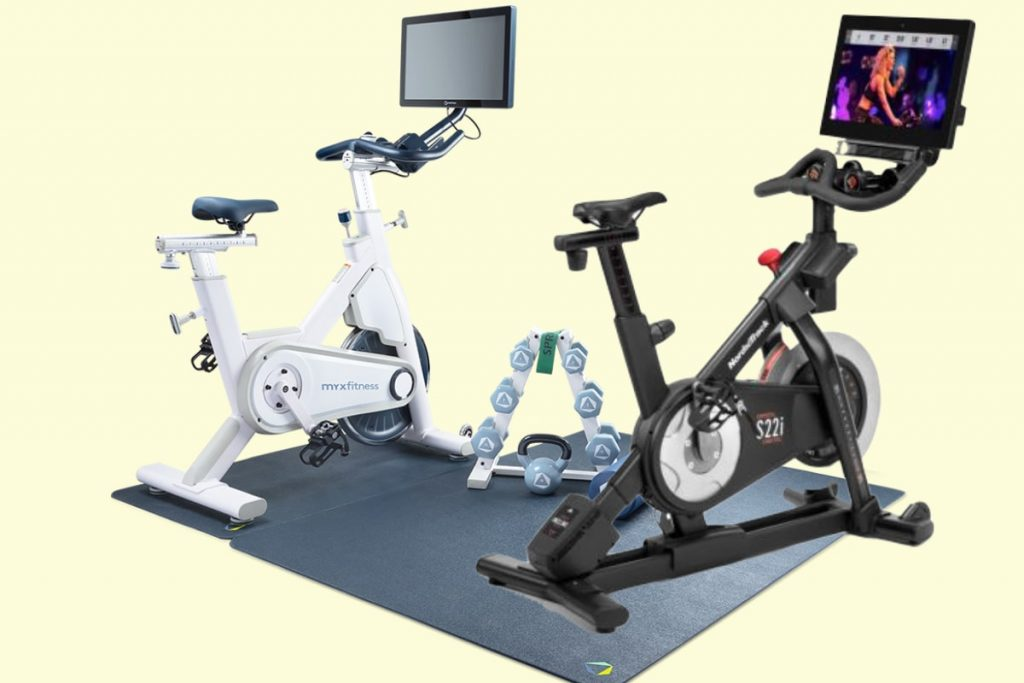 MYX versus NordicTrack S22i exercise bike comparison