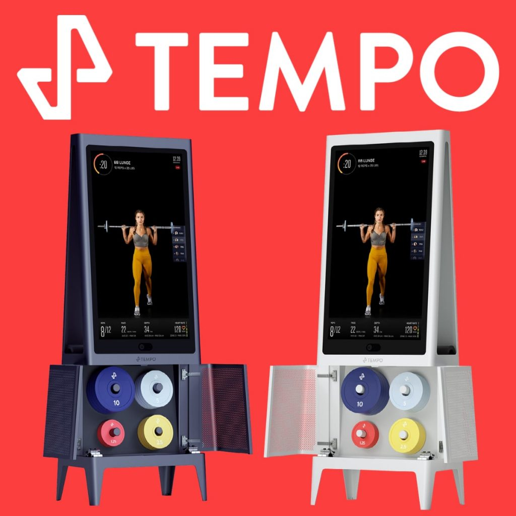 both colors of the Tempo Studio home gym to choose from