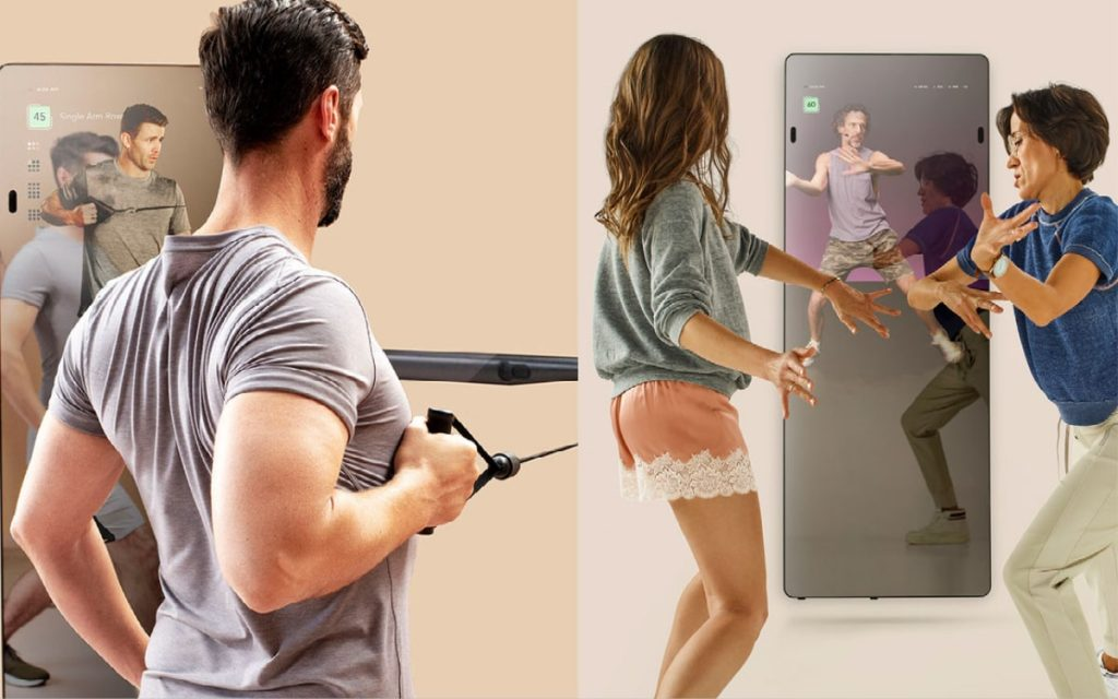 digital weight system and dance class by Forme Life Studios