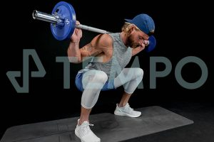 barbell squats with tempo