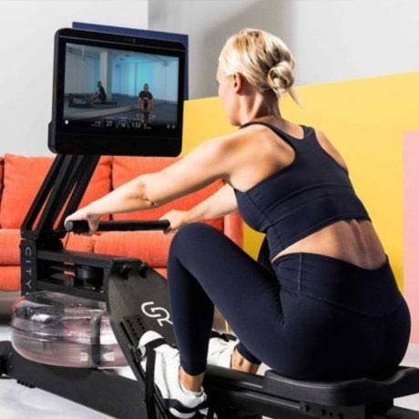 cityrow go max rowing workouts and floor exercises