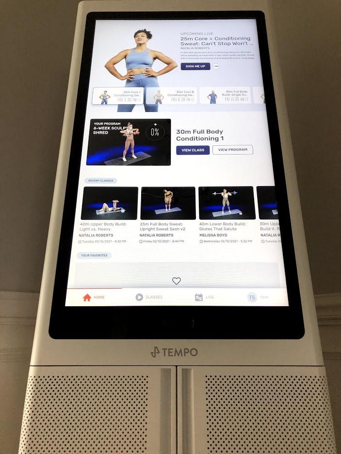 Tempo's 42 inch HD Touchscreen