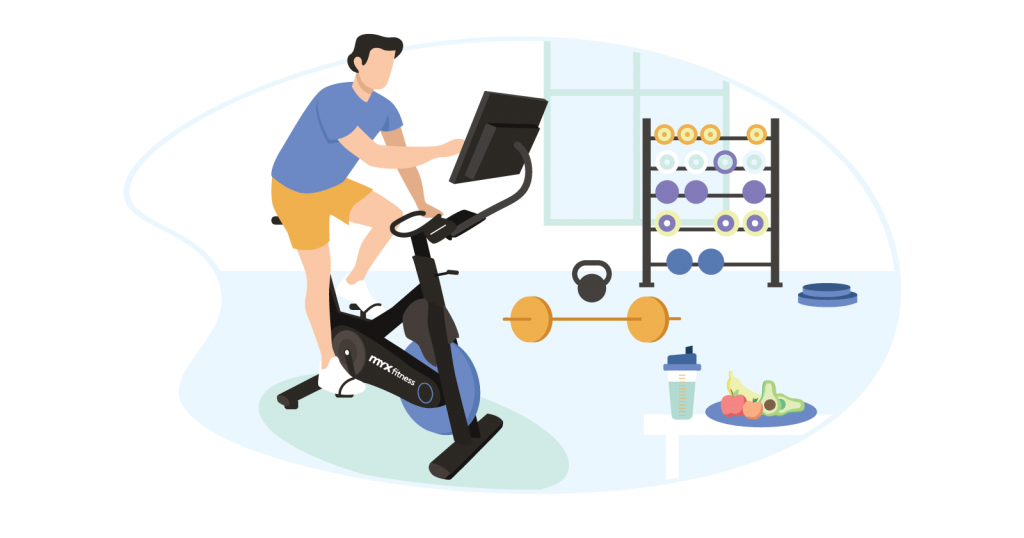 myx fitness bike review by Fitness Training Star
