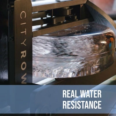 CITYROW'S Real Water Resistance System