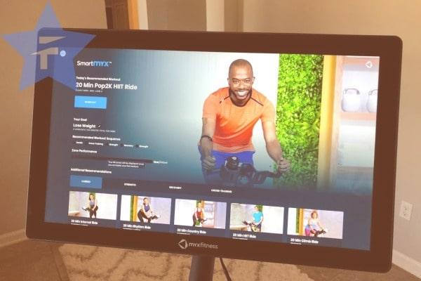 huge HD swivel screen